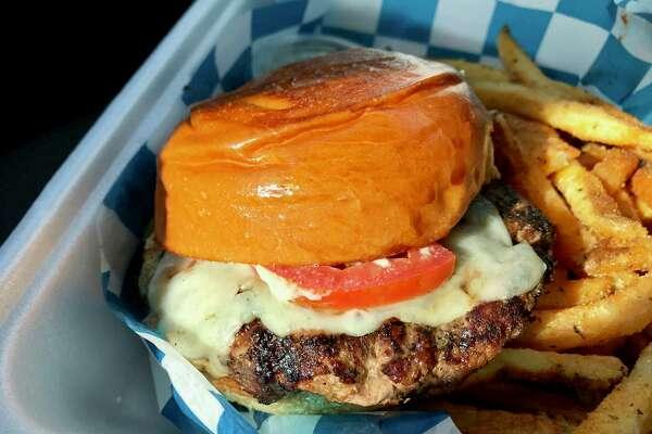Greek Burger from Just GRK