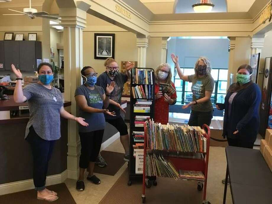 The Edwardsville Public Library staff is preparing to reopen for curbside service starting Monday, June 1. Photo: The Intelligencer