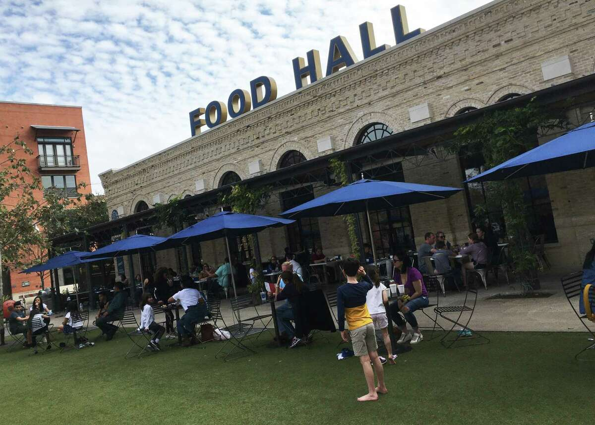 The Bottling Department food hall at the Pearl will reopen at 50 percent capacity June 9.