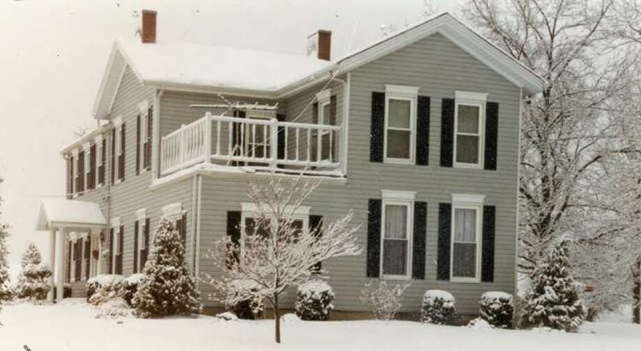 An undated view of the Carl and Doris Gause home on Troy Road. Photo: Courtesy Of Nancy Hess