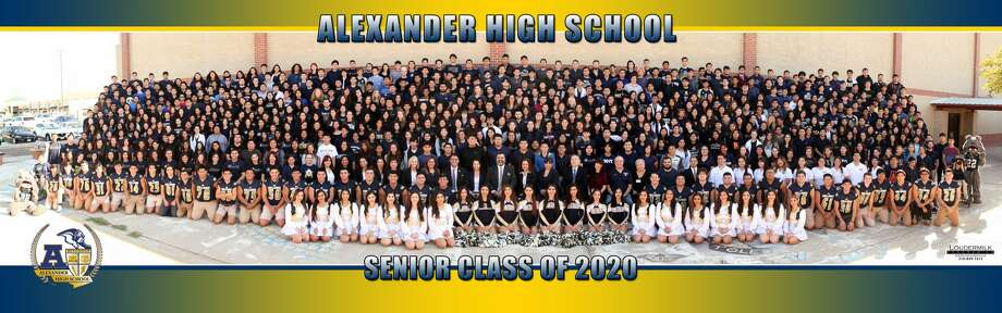 Alexander High School Class of 2020 Photo: Courtesy