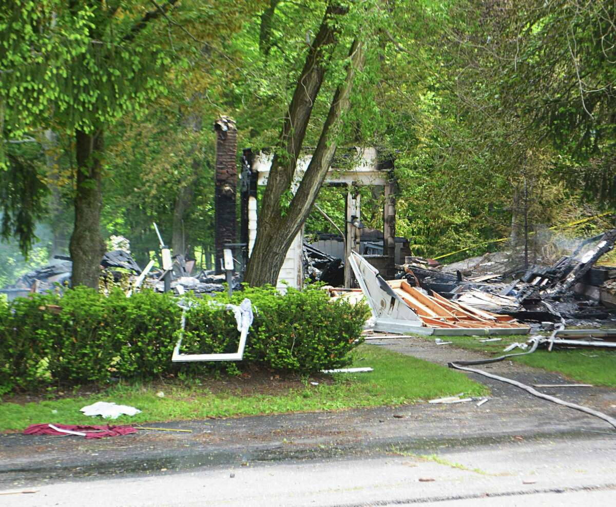 Hours late, the house blaze May 29 at 1662 Saybrook Road in Middletown was still smoldering.