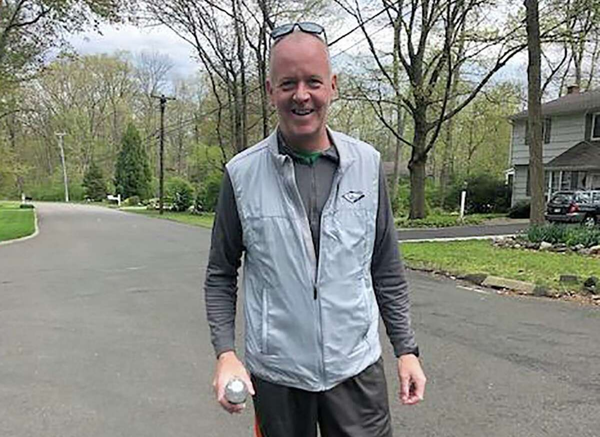 Norwalk's Joe Hoffman will be taking a marathon walk on Saturday, May 31, 2020, to raise funds for local non-profits as they help local families during the COVID-19 pandemic.