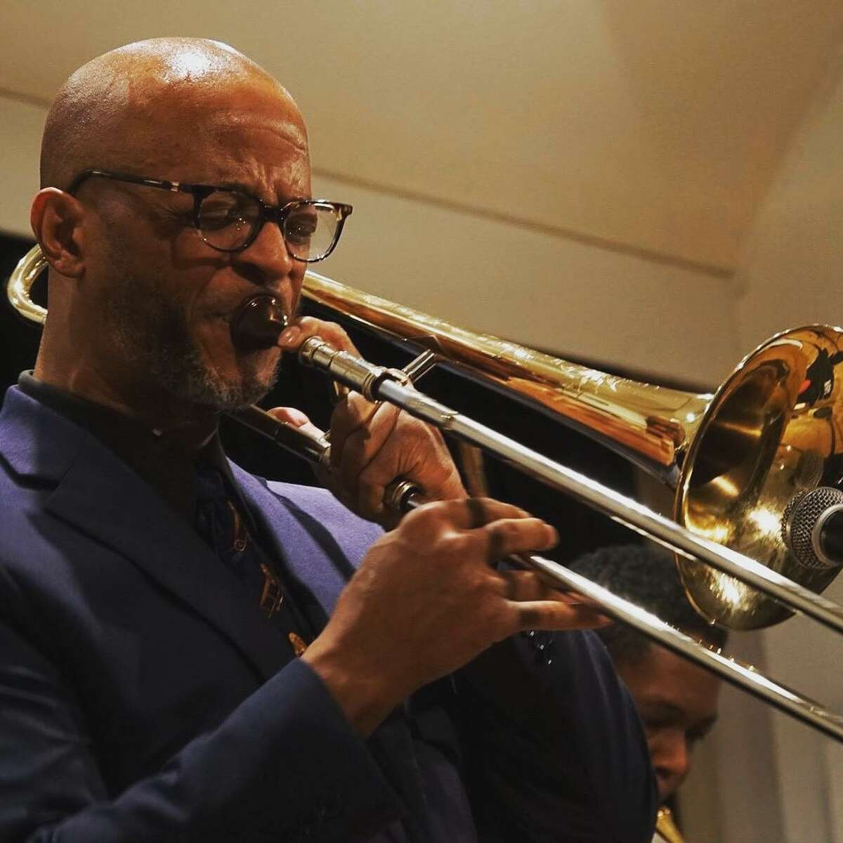 An accomplished trombonist who grew up in San Antonio, Ron Wilkins, was in an induced coma for 32 days after falling ill with COVID-19 in early April.