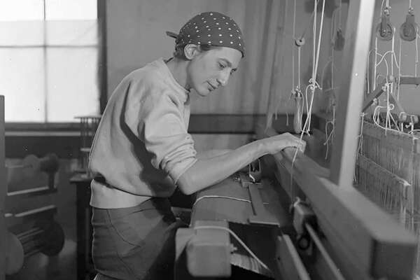 Anni Albers at Black Mountain College at midcentury.