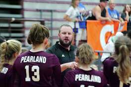 Pearland volleyball coach Christian Dunn is hopeful the high school volleyball season can begin in early August.