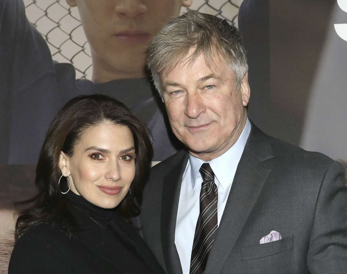 In this Feb. 20, 2020 file photo, Hilaria Baldwin, left, and Alec Baldwin attend the Broadway opening night of