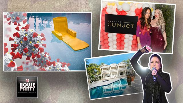 'House Party' Podcast: Can Your Swimming Pool Kill Coronavirus? Plus, How We Really Feel About Netflix's 'Selling Sunset'