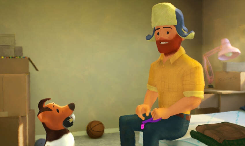 The playful and poignant film is a result of Hunter and Sachar's long tenure at Pixar. Working in animation and production since 1997 and 2007, respectively, the two originally collaborated on
