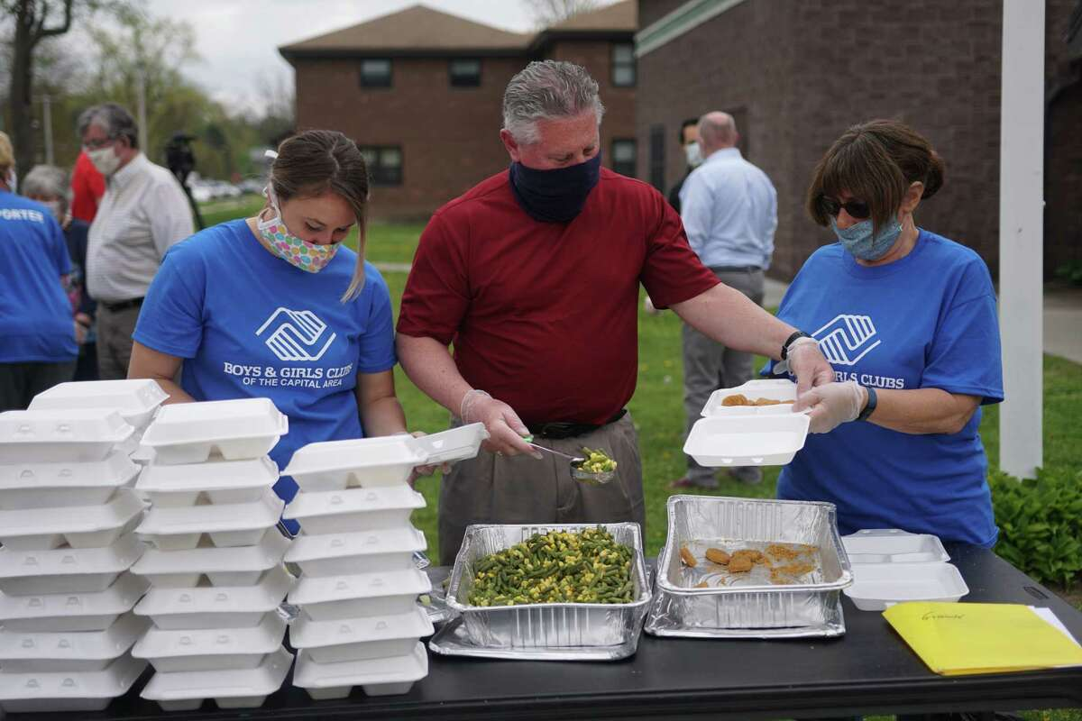 On May 15th, the Boys & Girls Clubs of the Capital Area celebrated the delivery of 100,000 free meals since the pandemic began.A The mobile delivery service, which began on March 18, serves over 13,000 meals each week at 12 locations in Albany and Troy.