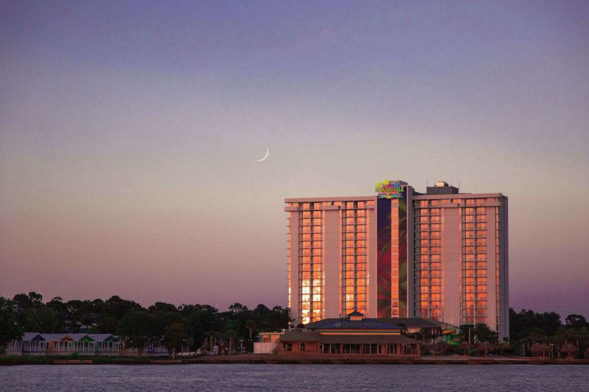 Margaritaville Lake Resort on Lake Conroe will officially open as the first Texas location on June 26.