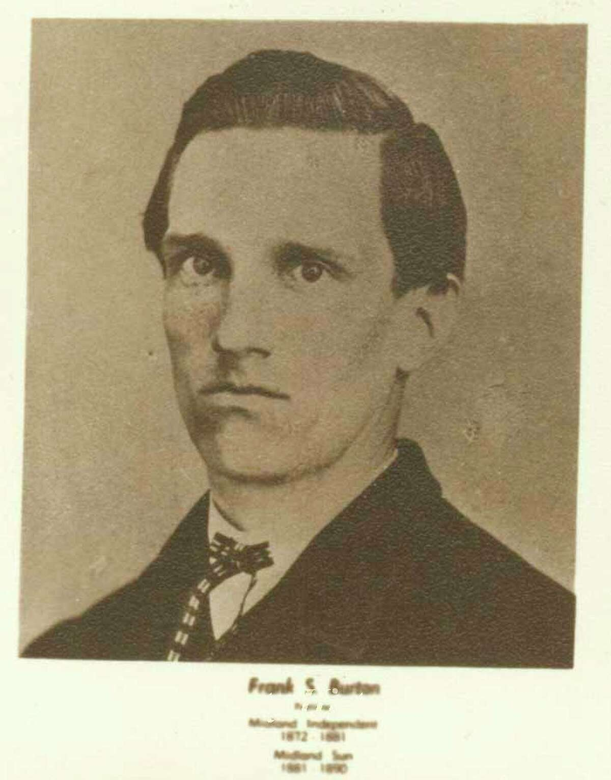 F.S. Button (Midland County Historical Society)