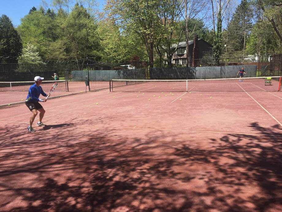 The Wire Mill Racquet Club in North Stamford is one of the few outdoor clubs that is currently open. The club, which has been in the city for more than 50 years, is family owned. Photo: Contributed Photo