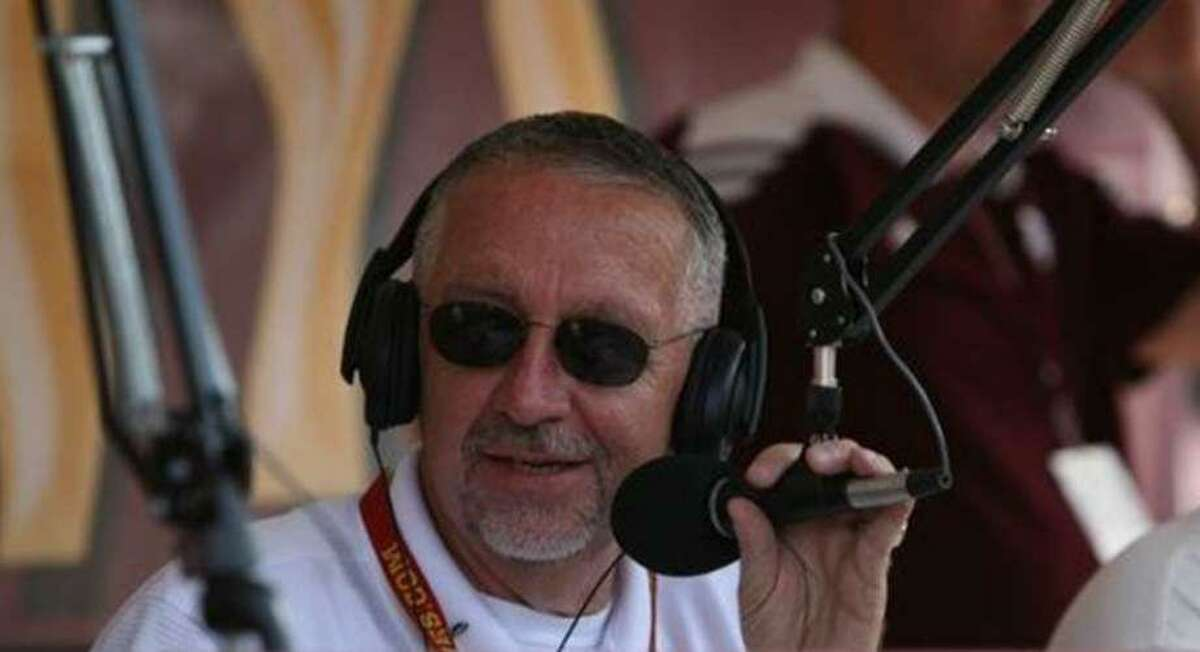 """Dave South, iconic """"Voice of the Aggies"""" since 1985, called his last baseball game in March and is finding new challenges outside the booth during a pandemic."""