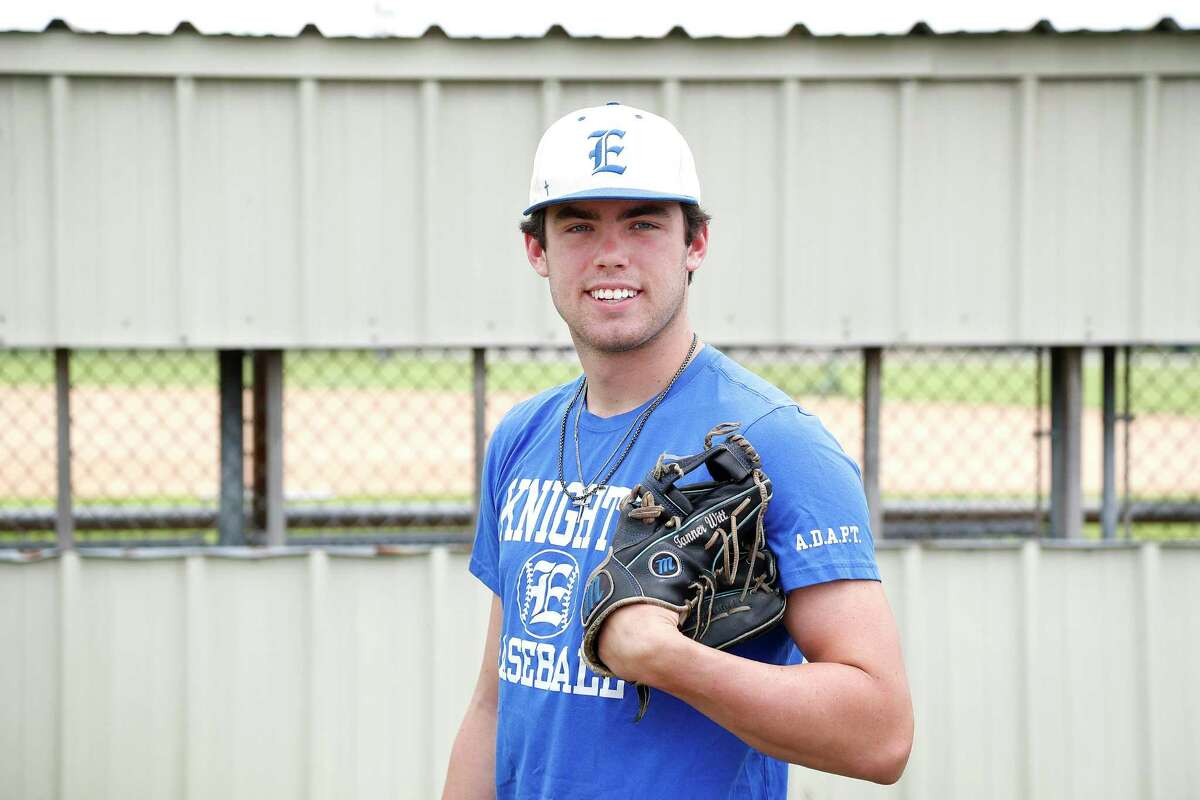Tanner Witt of Episcopal High School, photographed at Bayland Park, in Houston, Saturday, May 30, 2020.