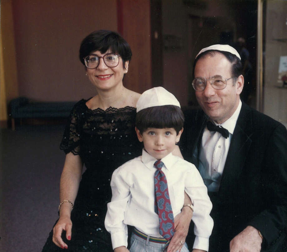 Eric Berger attended a wedding in 1992 in St. Louis with his parents, Susie and Carlos Berger. At the time, Eric was 5 years old; Susie was 45 and Carlos was 58. Photo: Photo Courtesy Of Josephine Havlak / Photo courtesy of Josephine Havlak