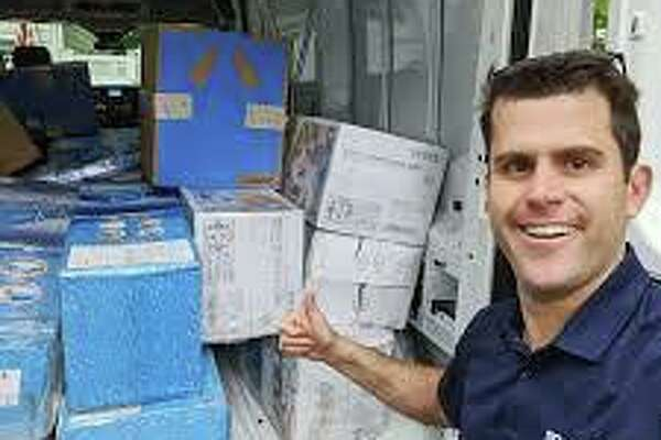 Boxcar CEO Joe Colangelo developed a contact-less food box drive-thru service.