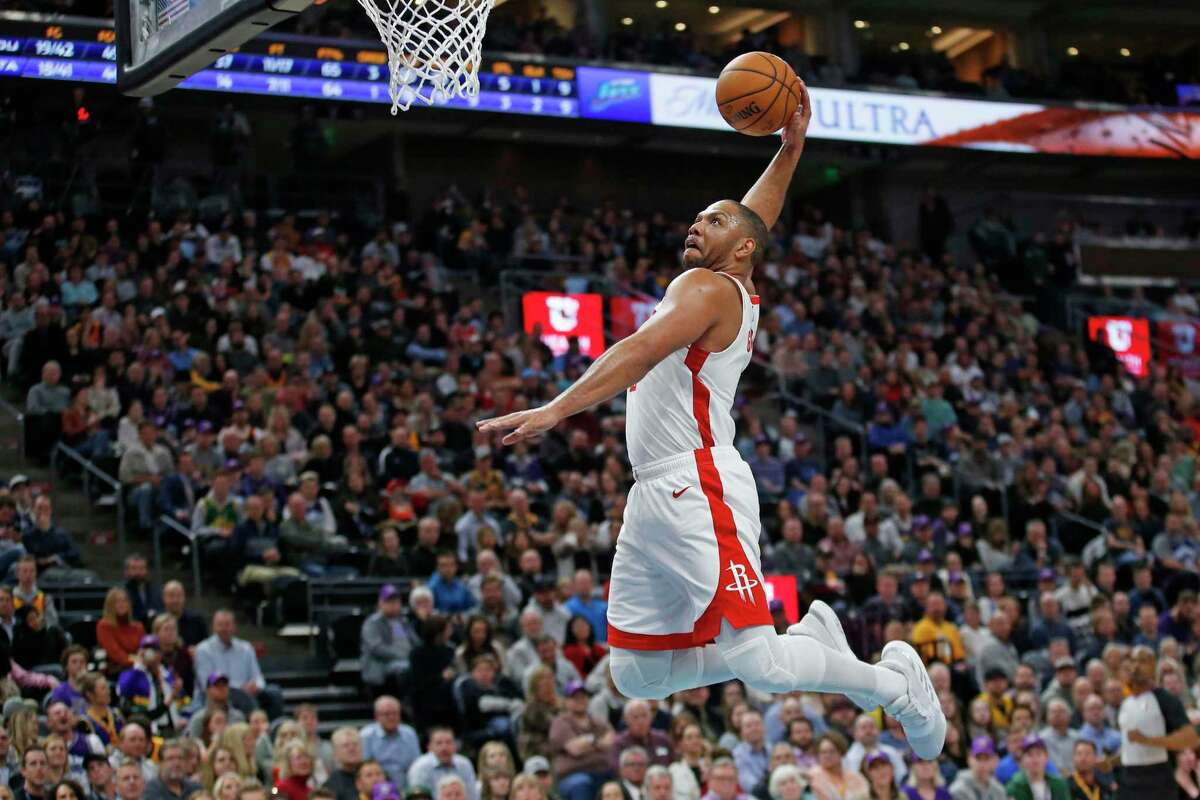 A healthy Eric Gordon could help the Rockets soar if and when the NBA season resumes.