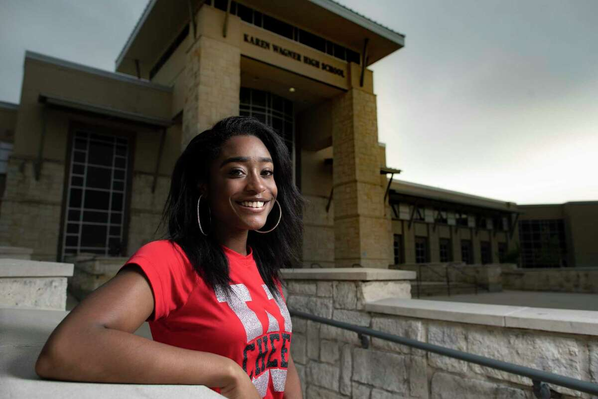 Wagner High School graduating senior Dominique Lang was a 2019-2020 co-captain of the cheer team and a National Honor Society member with a 4.0 GPA.