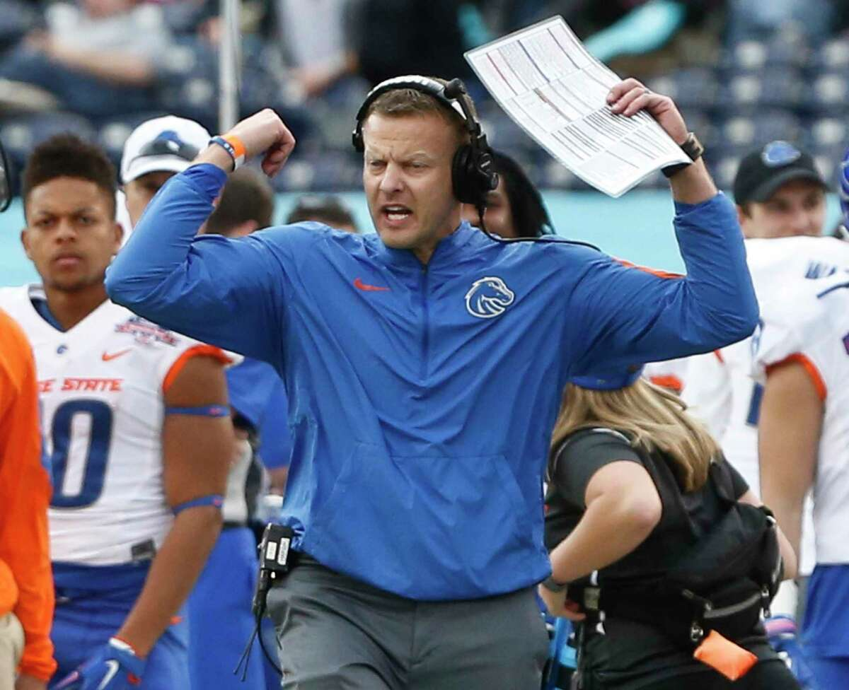 Boise State coach Bryan Harsin was criticized for his slow response to the George Floyd story.
