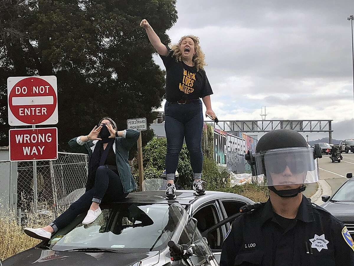 Which cities have held protests and what happened? Protests have unfolded in big cities around the Bay Area, such as San Francisco and Oakland, and also in suburbs such as Walnut Creek and San Leandro. The demonstrations have generally been peaceful marches; a statement from the SF Police Department said events in the city on Sunday were