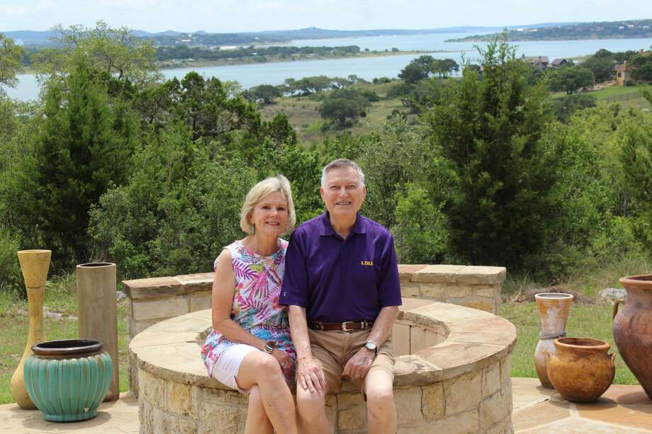 Kearney and Gail Morgan live in Mystic Shores. The Canyon Lake community is located on FM 306, six miles east of U.S. 281. Photo: Lisa Harrison Rivas