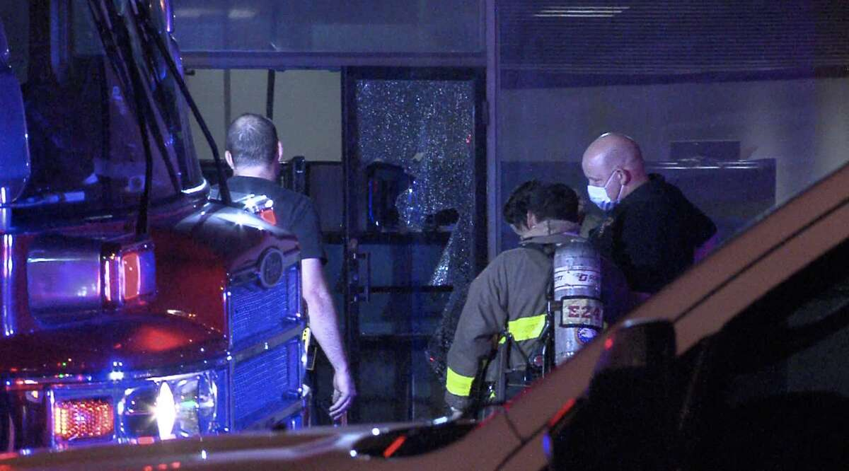San Antonio Fire Department were called to the scene about a fire at a probation office on Sunday morning.