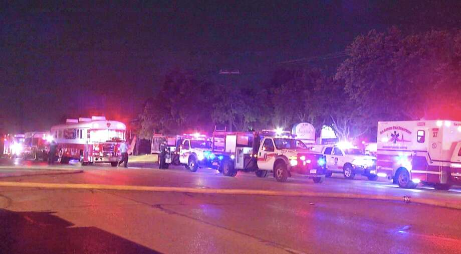 The San Antonio Fire Department responded to a fire on the Northwest Side around 12:04 a.m. Sunday morning. Photo: 21 Pro Video