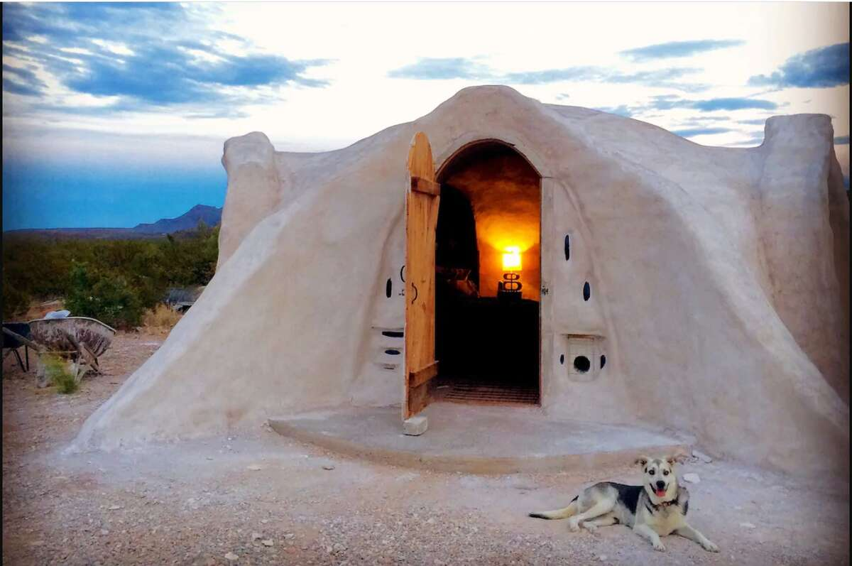 """Off-grid Adobe Dome in the DesertTerlingua1 bedroom