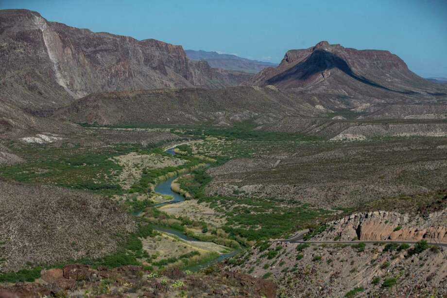 The Rio Grande flows in Colorado Canyon in Big Bend Ranch State Park in Texas, from Dark Canyon on May 26, 2020. Photo: Josie Norris, The San Antonio Express-News / Staff Photographer / **MANDATORY CREDIT FOR PHOTOG AND SAN ANTONIO EXPRESS-NEWS/NO SALES/MAGS OUT/TV