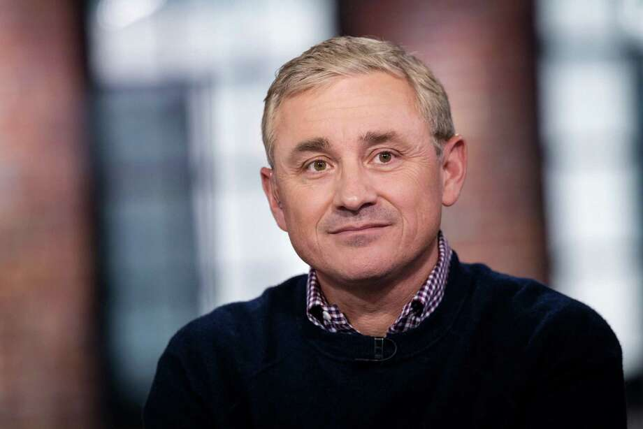 Frank Gibeau, chief executive officer of Zynga Inc., during a Bloomberg Technology television interview in San Francisco on Feb. 6, 2020. Photo: Bloomberg Photo By David Paul Morris. / © 2020 Bloomberg Finance LP
