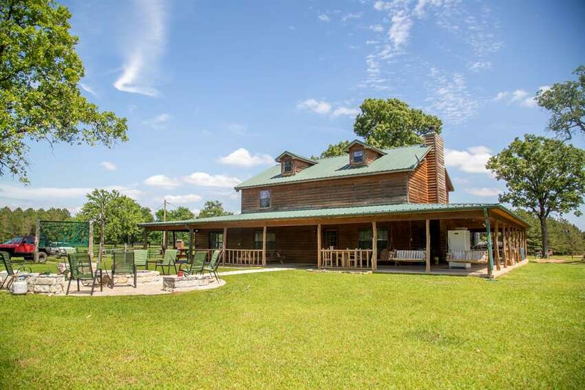 A 3,000-square-foot lodge is featured on the property.