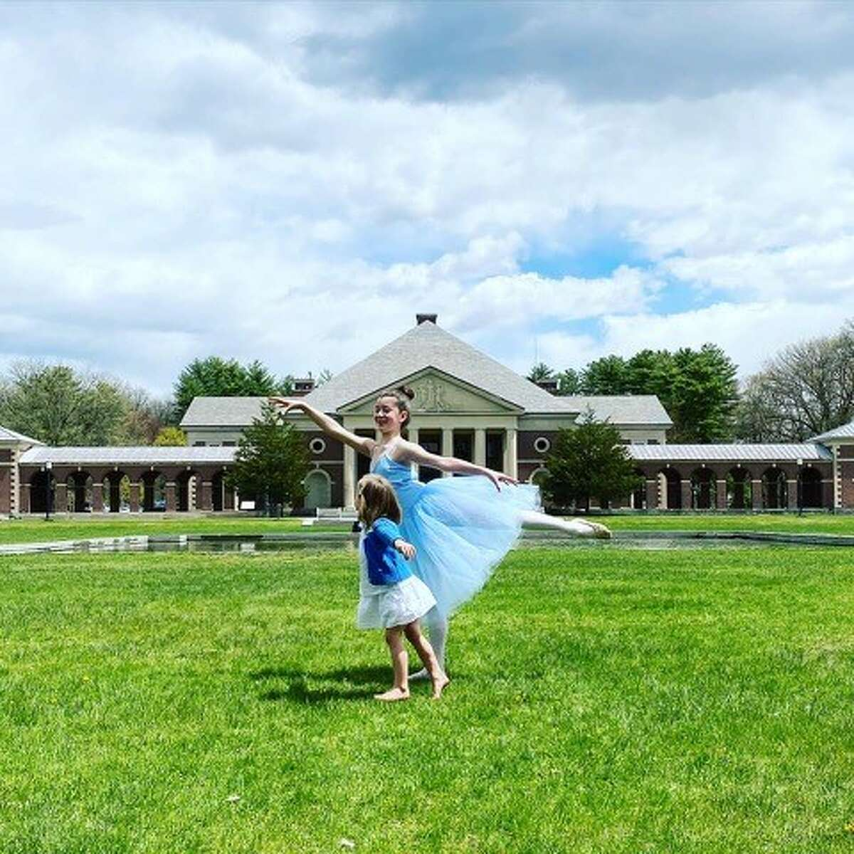 Leven and Tallis O'Keefe dances for a SPAC video.
