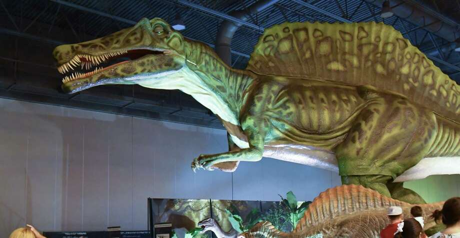 Jurassic Quest is debuting a drive-through version of its animatronic dinosaur show in San Antonio. Photo: Jurassic Quest