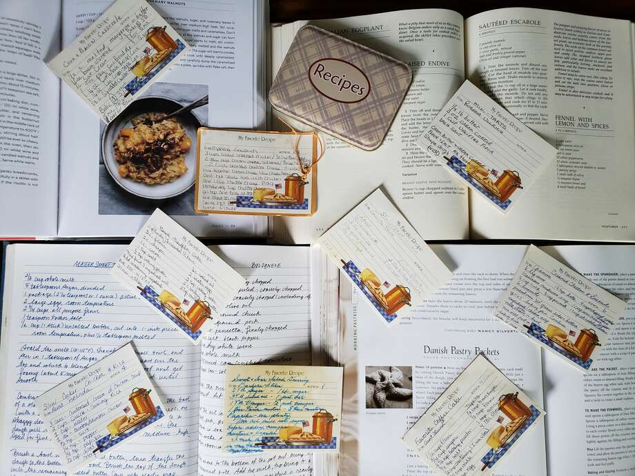 Most of us will thumb through cookbooks, food magazines and internet sites to find kitchen inspiration, while others will refer back to old-reliable recipes to crank out meal after meal. Photo: Deanna Fox