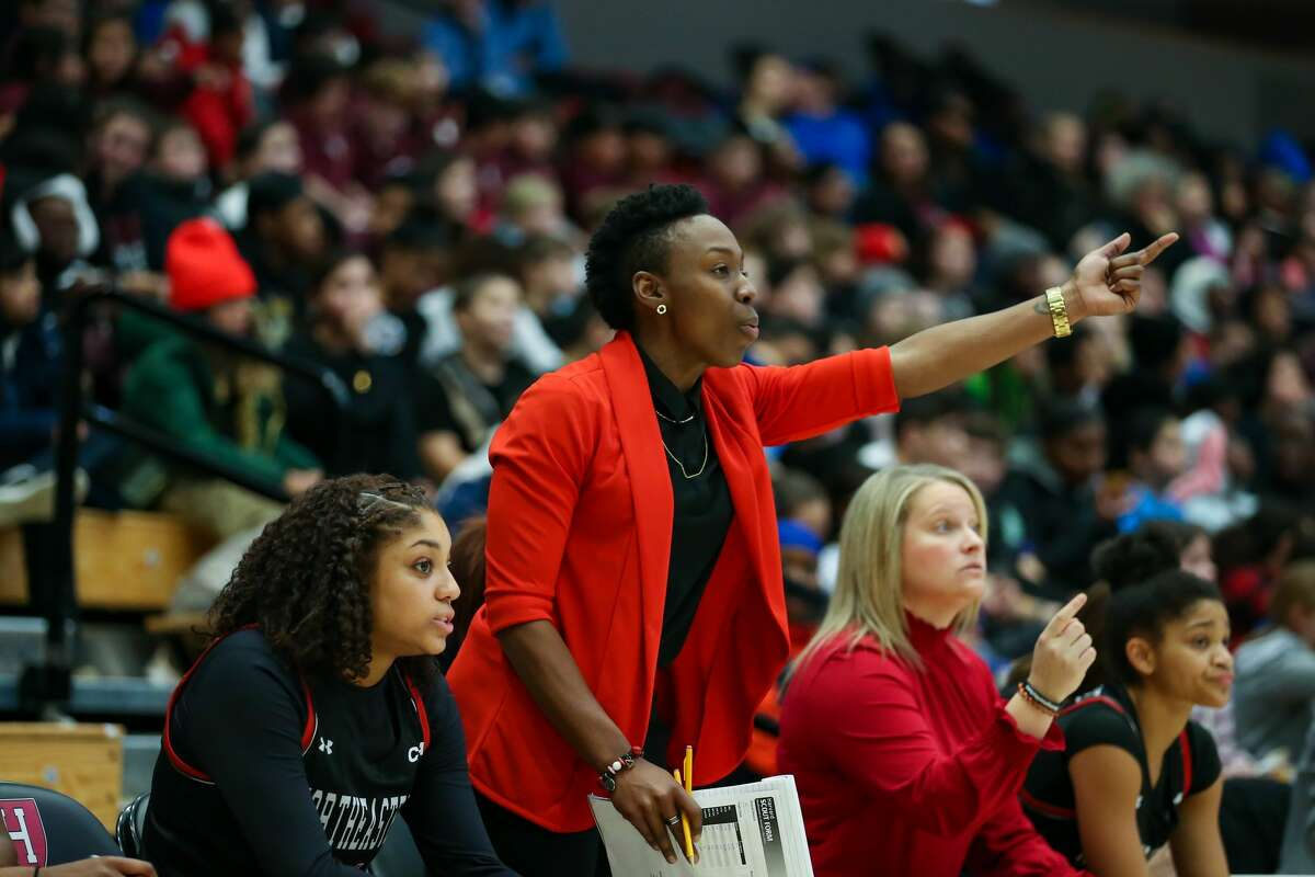 New College of Saint Rose women's basketball coach Whitney Edwards spent the past three seasons as a Northeastern University assistant. (Jim Pierce)