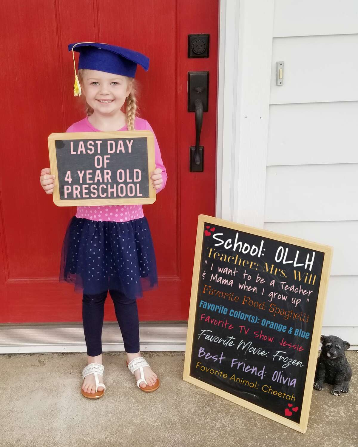 Senior graduates are not the only ones left out because of the coronavirus pandemic. The classes of 2032 and 2033, currently kindergartners and preschoolers have also missed out on milestones. Congratulations to those students for making your first steps of many on your educational paths.