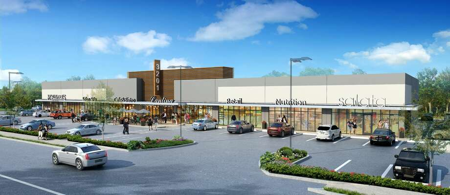 Gulf Coast Commercial Group is developing a new lifestyle center called Block 14 at Garden Oaks at 3201 N. Shepherd Drive. Cisneros Design Studio Architects designed the project. Photo: Gulf Coast Commercial Group
