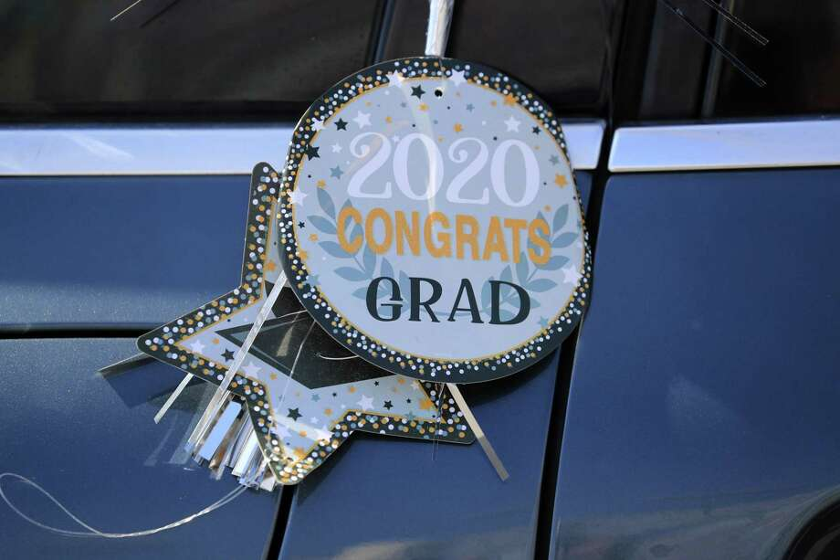 High school graduations for the class of 2020 across the country were impacted by the coronavirus pandemic. Photo: Sam Greenwood / Getty Images / 2020 Getty Images