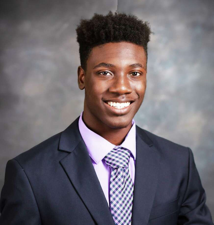 Middletown resident Osiah Wiggins of Xavier High School won the Kiwanis Club of Middletown's 2020 annual scholarship award. Photo: Contributed Photo