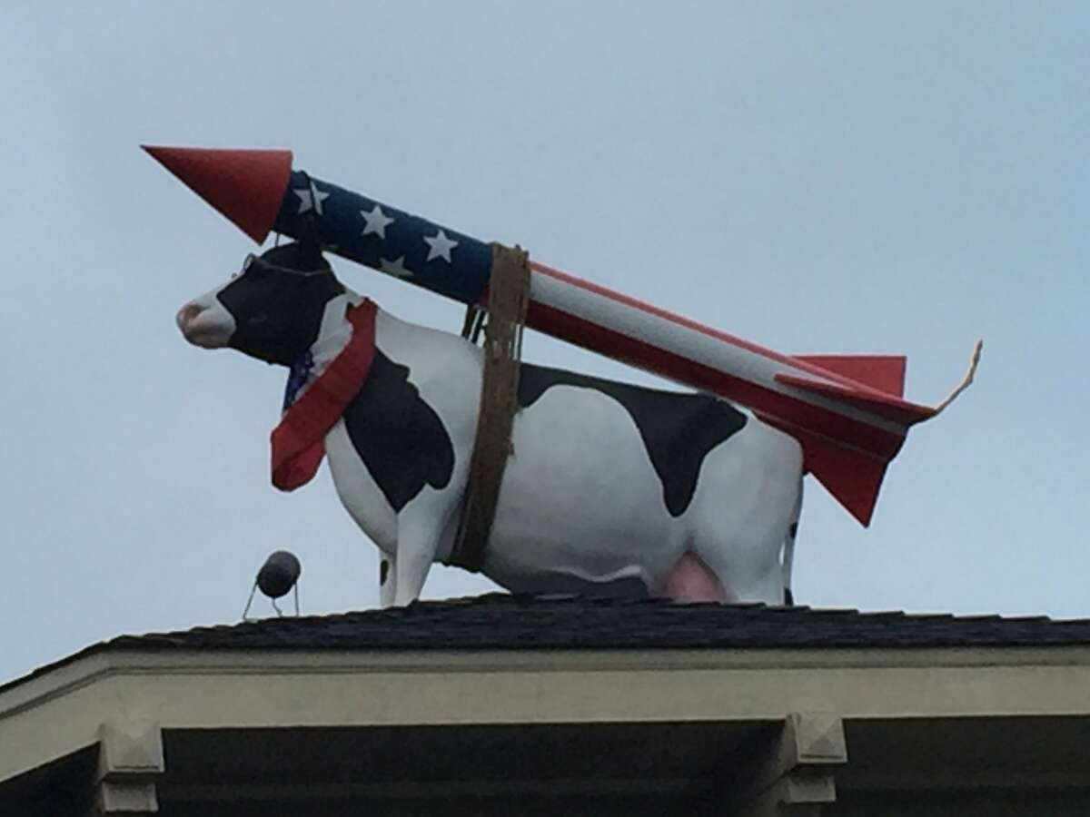 Ask not why the cow is on the roof: ask why the house is under the cow.