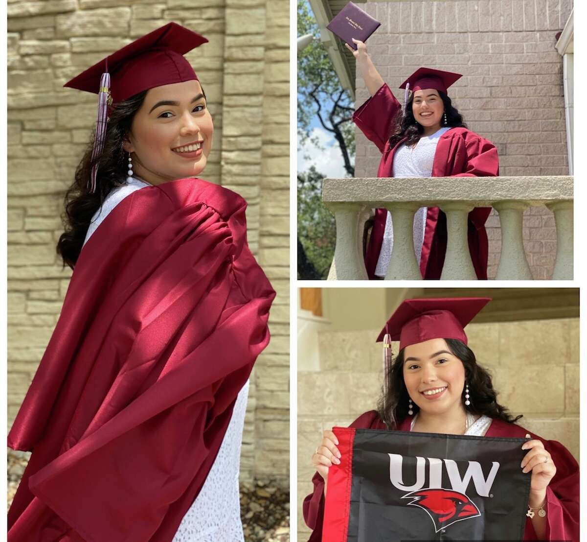Congratulations Erin! ErinBocanegra, your hard work anddetermination has paid off! We are so proud of you.Congratulations on your acceptance intoThe University of the Incarnate Word. Love Always, BocanegraFamily