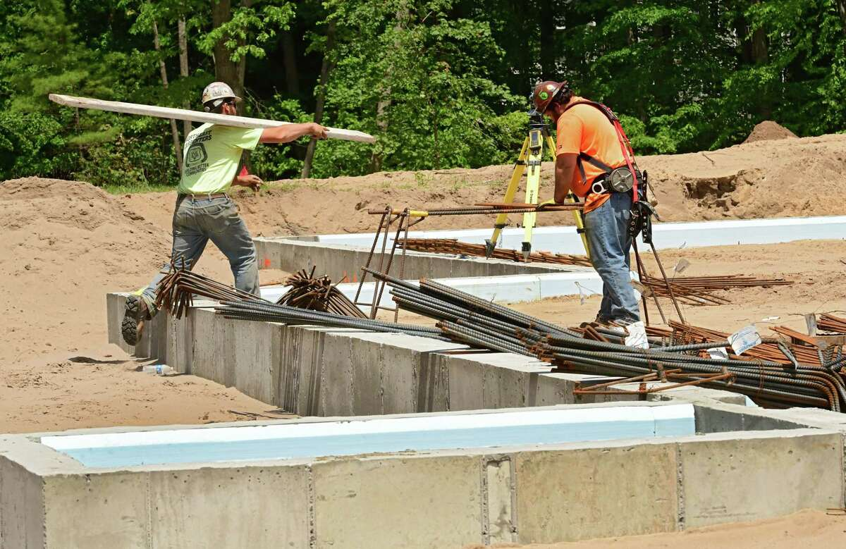 Construction for the new CDPHP medical building at 1785 Rt. 9 is under way on Monday, June 1, 2020 in Clifton Park, N.Y. (Lori Van Buren/Times Union)