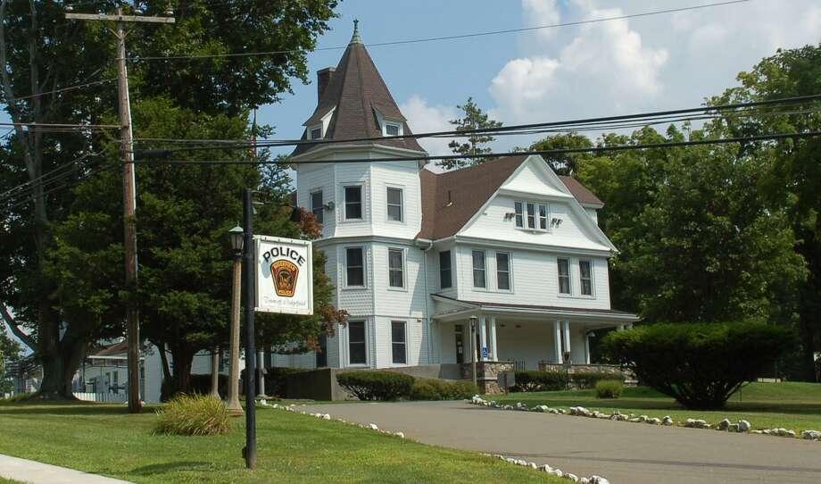 Police headquarters in Ridgefield, Conn. Photo: Macklin Reid / Hearst Connecticut Media