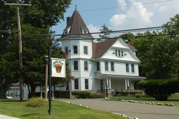 Police headquarters in Ridgefield, Conn.