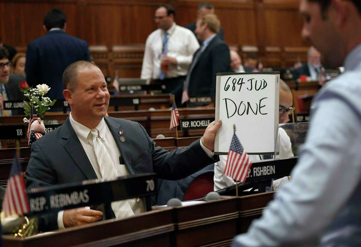 State Rep. Craig Fishbein, R-Wallingford, in a 2019 file photo.