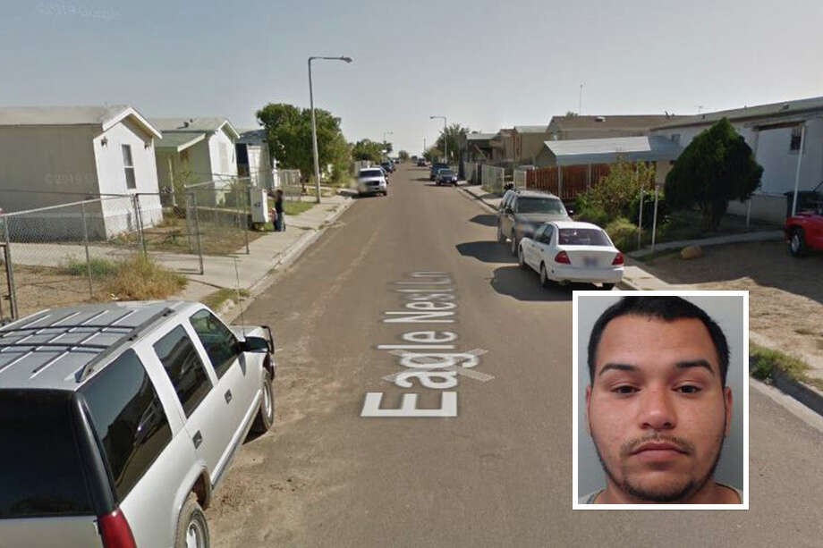 A convicted firearms smuggler has been sentenced to prison after Laredo police raided his home and discovered assorted ammo, according to an arrest affidavit. Photo: Google Maps/Street View