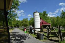 Members enjoy the grounds at Stamford Museum & Nature Center opening weekend (and you're welcome to become a member). The general public is invited to visit starting June 8; preregistration is required.