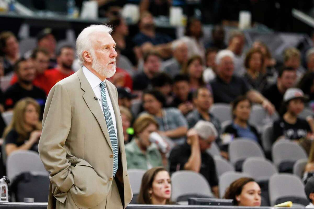 Spurs coach Gregg Popovich didn't mince any words in blasting President Donald Trump for what he called a lack of leadership during a national crisis,