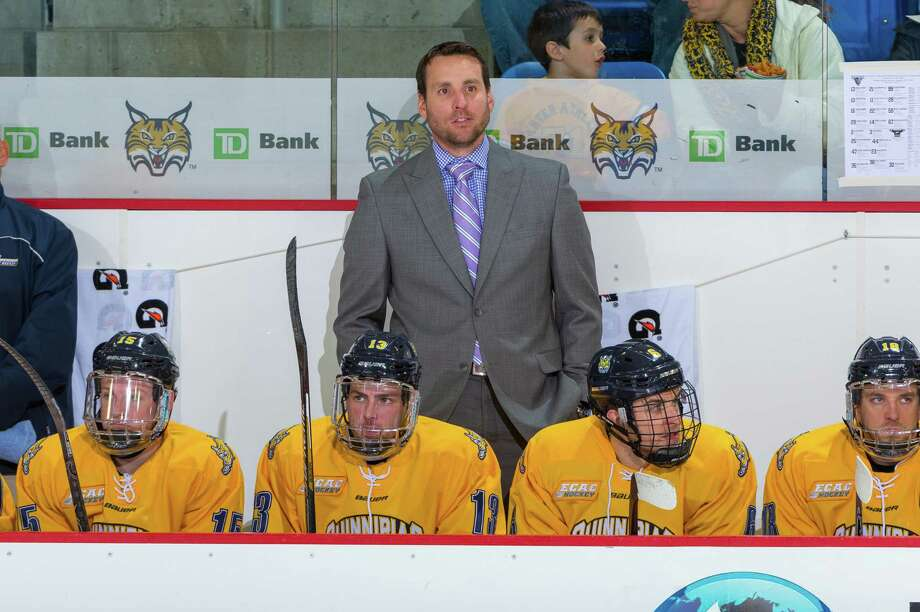 Former Quinnipiac All-American and assistant coach Reid Cashman was named the new men's hockey coach at Dartmouth on Monday. Photo: Qunnipiac Athletics / Contributed Photo / Stamford Advocate Contributed